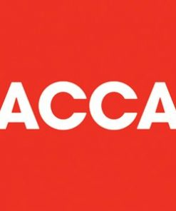 ACCA ACCOUNTING certificate