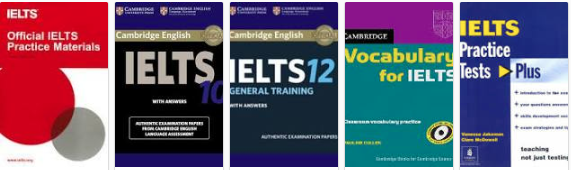 IELTS official books