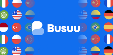 Learn languages with Busuu
