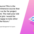 Project Management for Experts Online Course