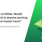 Microsoft Excel for Mac - Basic Online Course
