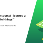 Microsoft Excel for Mac - Advanced Online Course