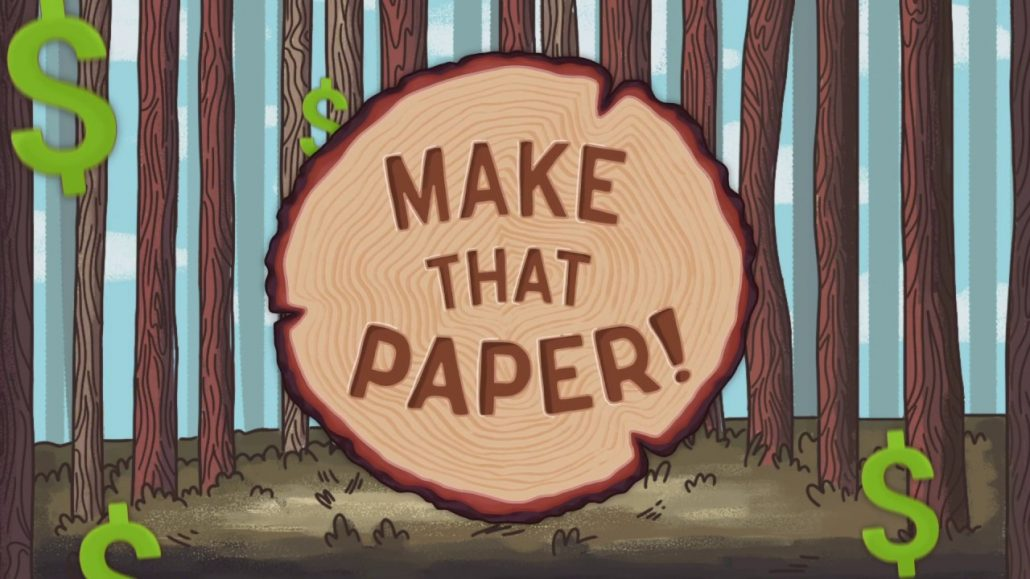 New game Make That Paper teaches high school students important employability skills