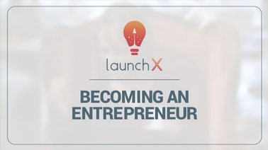 Learn Becoming an Entrepreneur online by edX
