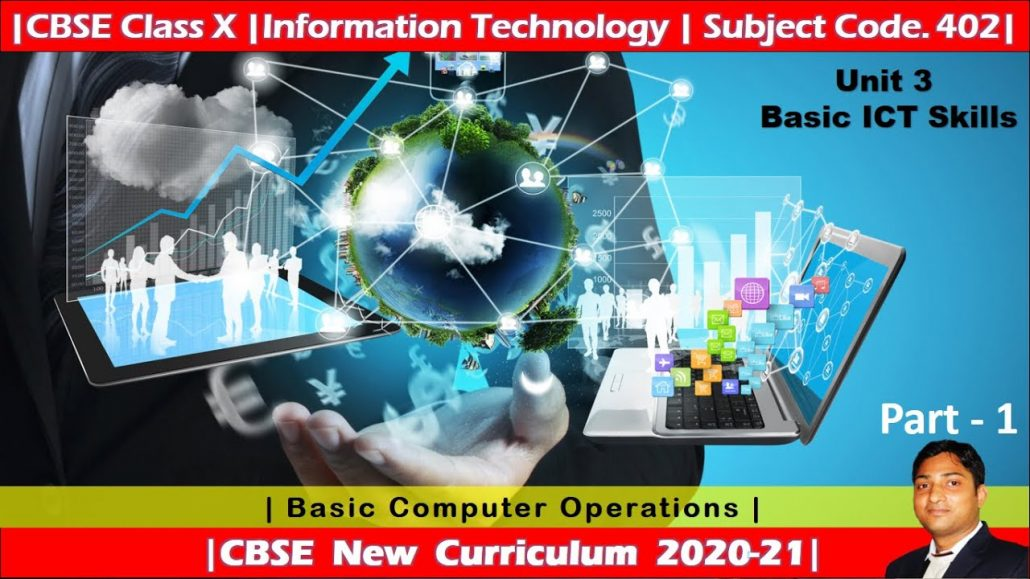 Part 1 Basic ICT Skills Employability Skills Basic Computer Operations Class X