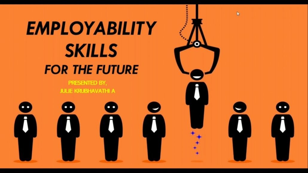 Employability Skills For The Future by Ms Julie Chennai on 18th June 20 Training Placement Cell