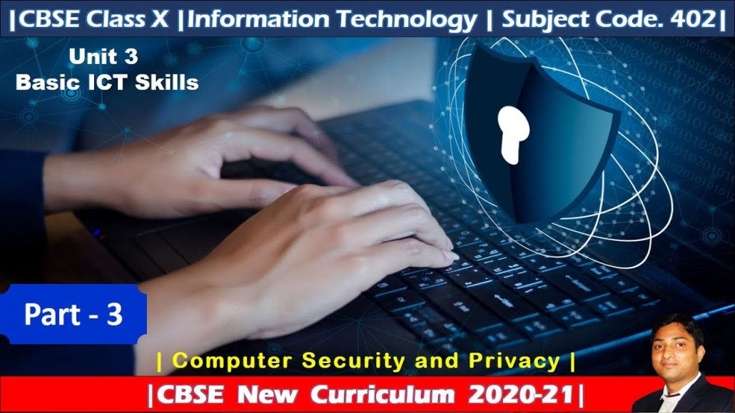 Part 3 Basic ICT Skills Employability Skills Computer Security and Privacy Class X