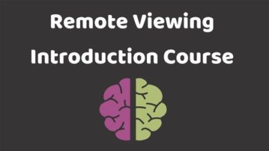 Remote Viewing Introduction Course | Personal Development Personal Transformation Online Course by Udemy