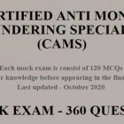 CAMS CERTIFICATION (ACAMS) 3 MOCK EXAMS - UPDATED DEC 2020 | Finance & Accounting Compliance Online Course by Udemy