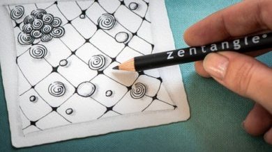 Die 8 Grundlagen der Zentangle Methode | Personal Development Creativity Online Course by Udemy