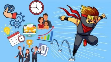 Be Productive Ninja: 10x Your Productivity & Have more time | Personal Development Personal Productivity Online Course by Udemy