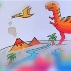 Kids Drawing and Basic Art - Dinosaurs Drawing and Coloring | Personal Development Creativity Online Course by Udemy