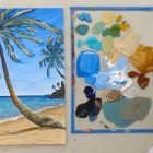 Tropical Seascape in Acrylic Paint | Personal Development Creativity Online Course by Udemy