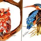 Drawing and Colouring: Birds and Flowers (Art as Meditation) | Personal Development Creativity Online Course by Udemy