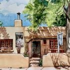 Traveler's Sketchbook: Adding Watercolors to Your Sketches | Personal Development Creativity Online Course by Udemy