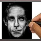 Draw a portrait with only one brush tool of Paintology | Personal Development Creativity Online Course by Udemy