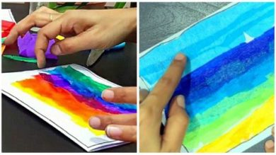 Kids Art: Easy Card making & Landscape Art with Crepe papers | Personal Development Creativity Online Course by Udemy