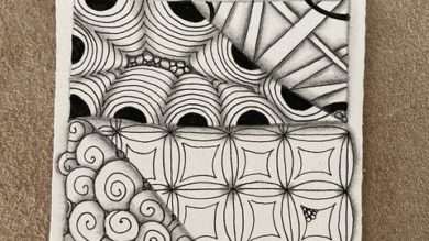 Intro to the Zentangle Method   Personal Development Creativity Online Course by Udemy