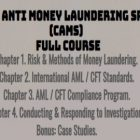 CAMS (Certified Anti Money Laundering Specialist) by ACAMS | Finance & Accounting Compliance Online Course by Udemy