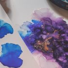 Learn Alcohol Inks Galaxy technique | Personal Development Creativity Online Course by Udemy