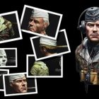 Learn how to paint a bust from WWII | Personal Development Creativity Online Course by Udemy