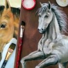 Dibujo y Pintura de Caballos / Horse Drawing and Painting. | Personal Development Creativity Online Course by Udemy
