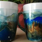 Alcohol Ink Drinkware Resin Art No Tumbler Needed | Personal Development Creativity Online Course by Udemy