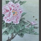 Relax With Chinese Painting - Peony Flower and Bees   Personal Development Stress Management Online Course by Udemy