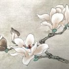 Relax With Chinese Painting - Magnolia Flower   Personal Development Stress Management Online Course by Udemy