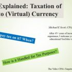 Understanding the Taxation of Crypto (Virtual) Currency | Finance & Accounting Cryptocurrency & Blockchain Online Course by Udemy