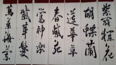 This is a special course of Shodo