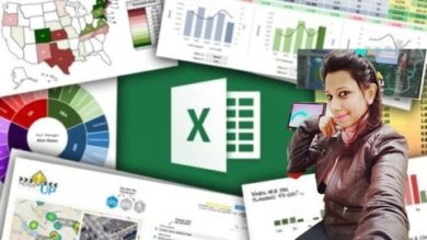 Best Microsoft Excel Hindi- Attractive Dashboard with Charts | Office Productivity Microsoft Online Course by Udemy