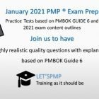 2021 PMP Exam Prep I Highly Realistic Practice Tests | Business Project Management Online Course by Udemy