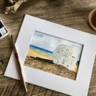 Painting a Sand Dollar Beach Scene with Watercolor | Lifestyle Arts & Crafts Online Course by Udemy
