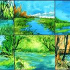 Watercolor Sketching: Natural Landscapes (Trees and Water) | Lifestyle Arts & Crafts Online Course by Udemy